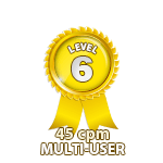 Multi-User 45cpm - Level 6