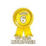 Multi-User 60cpm - Level 6