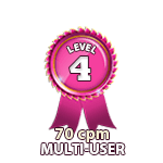 Multi-User 70cpm - Level 4