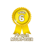 Multi-User 70cpm - Level 6
