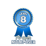 Multi-User 70cpm - Level 8