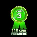 Premiere 110cpm - Level 3