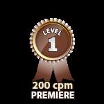 Premiere 200cpm - Level 1
