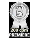 Premiere 200cpm - Level 5
