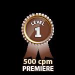 Premiere 500cpm - Level 1