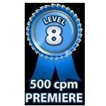 Premiere 500cpm - Level 8
