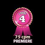 Premiere 75cpm - Level 4