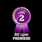 Premiere 80cpm - Level 2