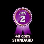 Standard 40cpm - Level 2