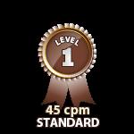 Standard 45cpm - Level 1