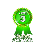 Standard 50cpm - Level 3