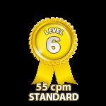 Standard 55cpm - Level 6