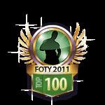 FOTY 2011 top 100 Guys