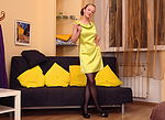 Lady in yellow