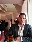 Having lunch at a fancy restaurant in Polanco (Mexico City)
