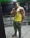 After the gym,