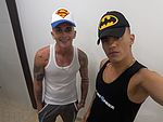 flirt4fre guy batman and superman
