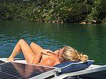 I love sunbathing naked