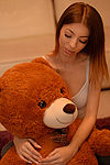 Play time with my TeddyBear