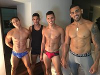 Alessandro & David & Angelo & Tim
