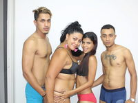 Marce P & Nyicole & Matheo Hill & Pako P