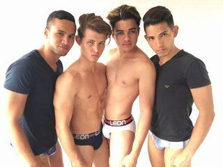 Cali & Kabir & Toby & Facundo