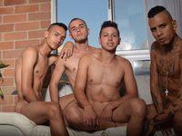 Josue & Damian & Khrisstian & Tiago