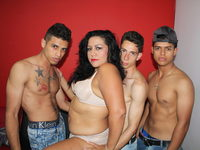 Nyicole & Brayan & Williams Peter & Yamal