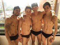 Nando & Cory & Pacco & Adel