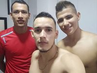 Victor Hunt & Evan Willian & Raul Garcia