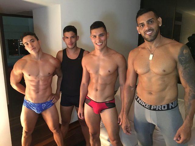 Alessandro & David & Angelo & Tim