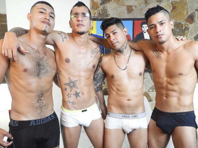 Deann & Rony & Thomas & Matias