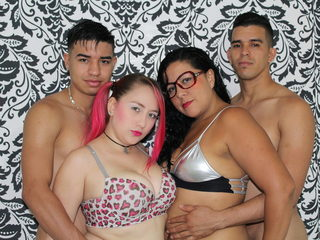 Thamara Red & Nyicole & Robie Lyn & Drew