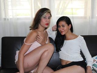Penelope Sweetlips & Scarleth Nympho