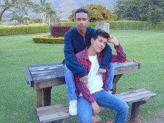 Alexis Zapata & Brinston Clay