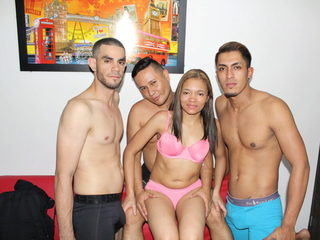 Ashelle & Neo Whithe & Matheo Hill & Jiacob