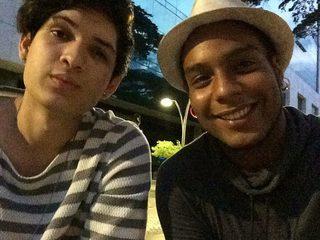 Aaron Latino & Rafael Marquez
