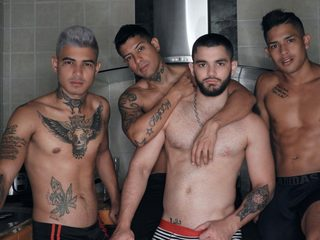 Matias & Arthur & Rony & Jaco