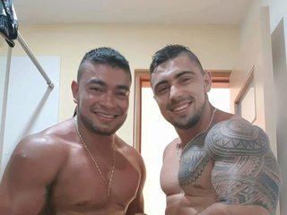 Mateo G & Richard Honey
