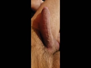 Cock Head Cum Eruption Up Close!