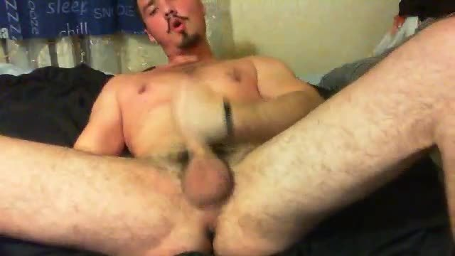 Jerking Webcam Show and Ass Play