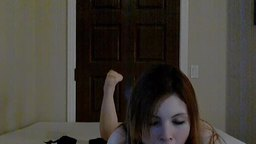 Vanessa Smith Dildo, Blowjob