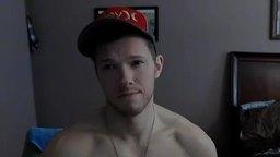 Canadian Model Jerks His Dick