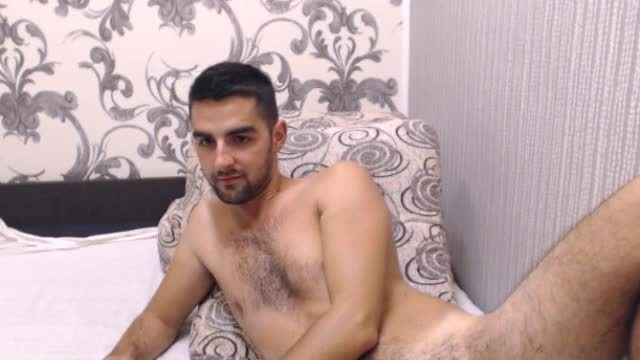 Group Chat: European Model, Lucas Plays with His Dick