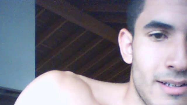 Luis Teasing Nipple and Jerk Webcam Show