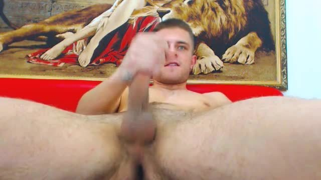 Group Chat: European Model Benjamin Jerks His Dick