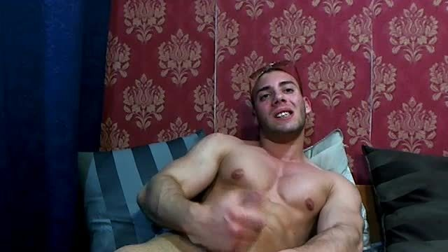 Party Chat: Hot Muscled Fit Stud, Jerking Off