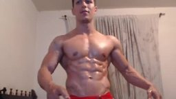Latino Model Giorgio Plays with His Dick