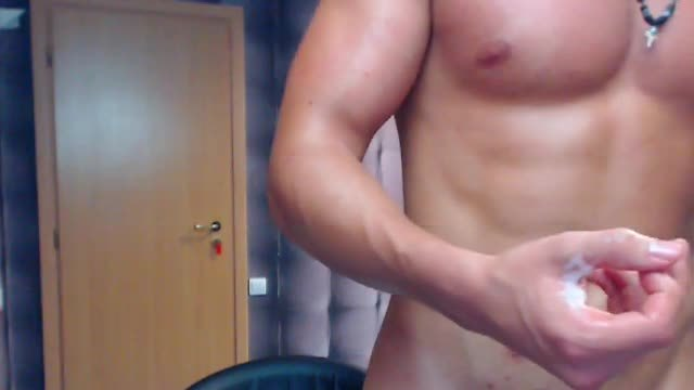 Euro Model Jacques Plays with His Dick