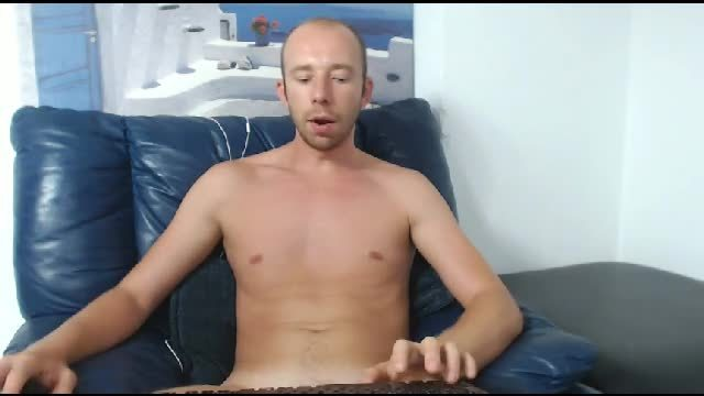 Big Uncut Cock in Action